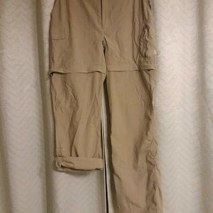 ^^3/$23^^The North Face Convertible Pants